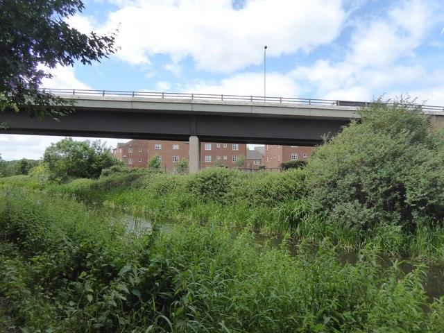 A358 bridge over Bridgwater and Taunton Canal