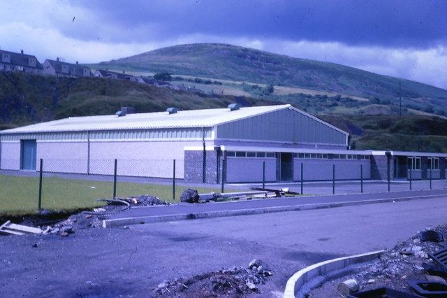 The Beginnings of the Forge Industrial Estate, Maesteg