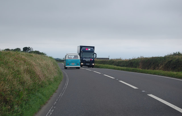 A39 heading west