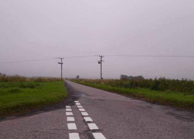 Junction of B9010 near Cloddach