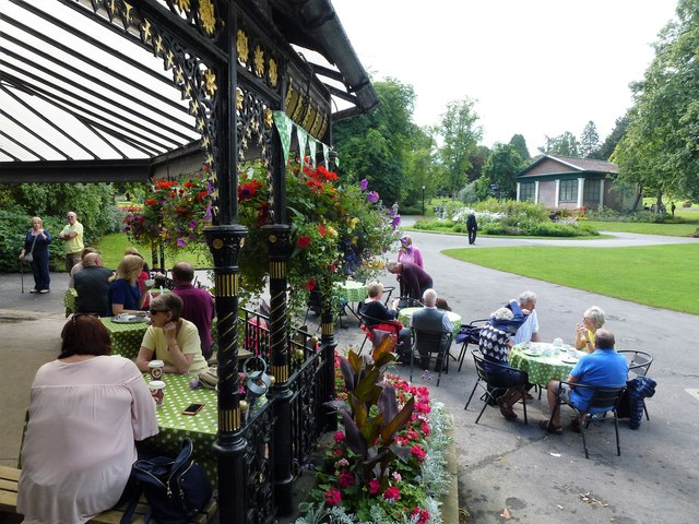 Cafe in The Valley Gardens, Harrogate