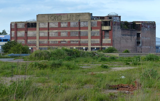 The derelict Lord Line building