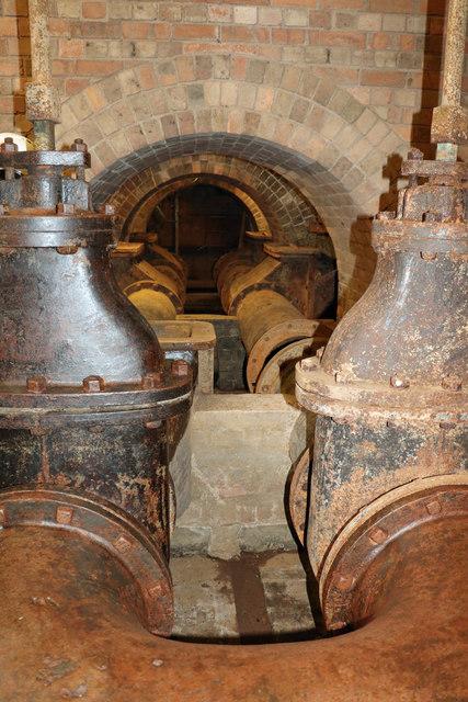 Coleham Head Pumping Station - basement