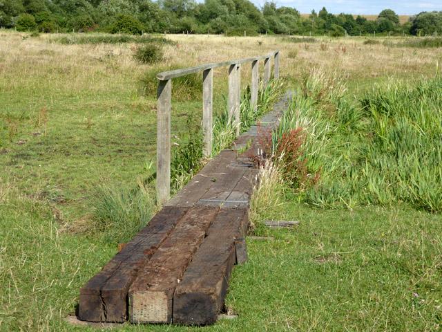 Board walk, Staines Moor