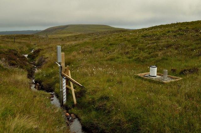 Moorland Stream Level Gauge, near Ben Tarvie