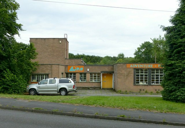 Former Stanley Colliery baths and canteen
