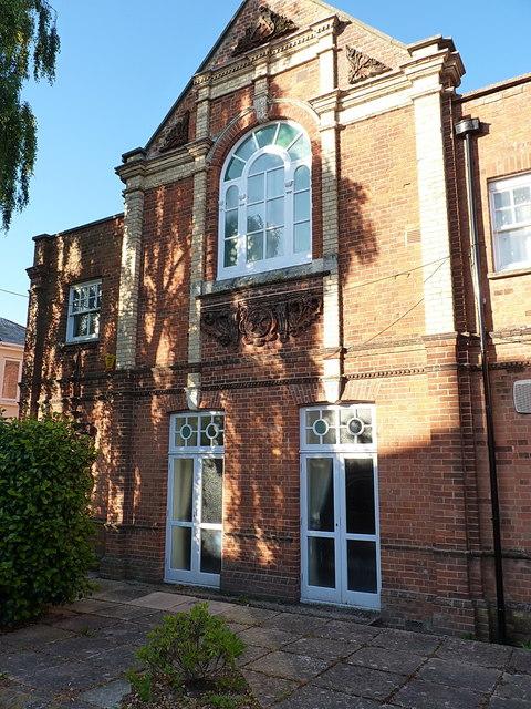 Masonic Hall on Sidmouth's High Street