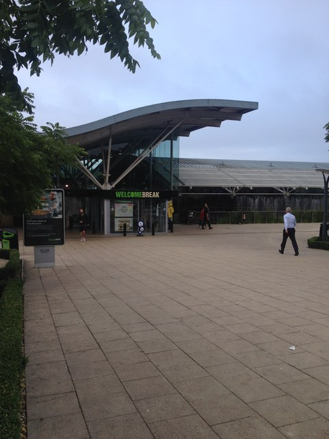 Entrance to Oxford Services
