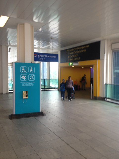 Gatwick South Terminal building