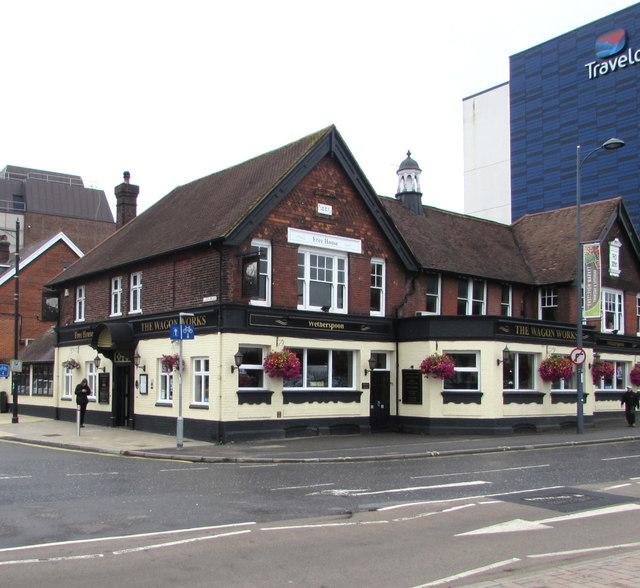 Wagon Works pub, Eastleigh
