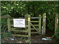 ST6363 : North-west entrance to Lord's Wood by Neil Owen