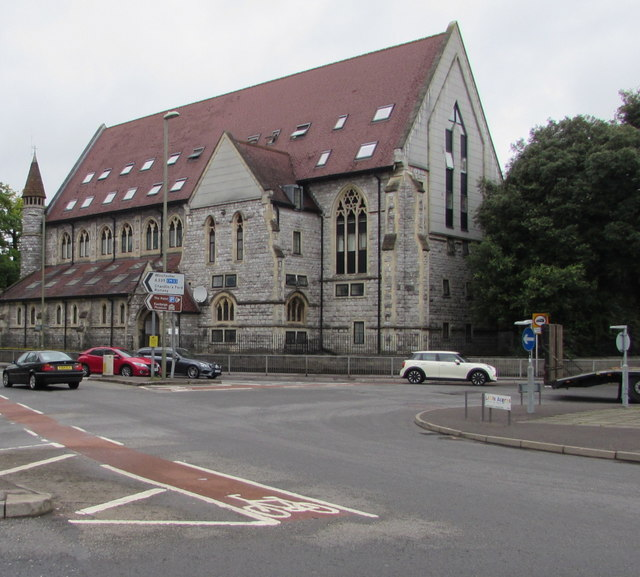 Grade II listed former church, Romsey Road, Eastleigh