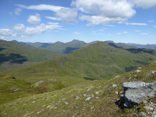 Looking towards The Brack from Cnoc Coinnich