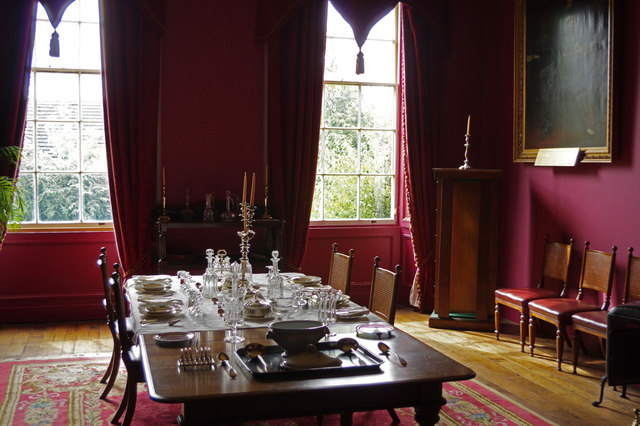 Dining room - The Judge's Lodging, Presteigne