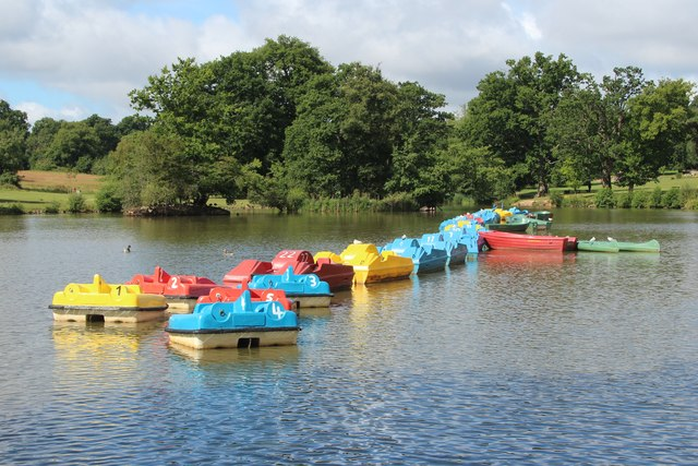 Pedalo's at Dunorlan Park