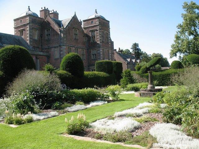 Kiplin Hall, from the White Garden