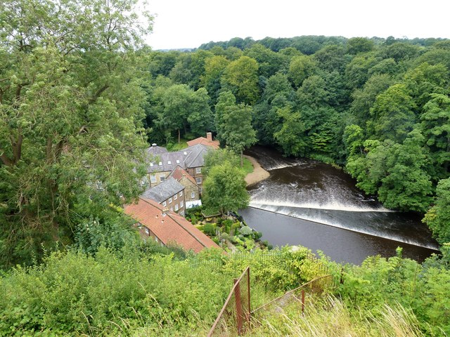 Weir in The River Nidd, Knaresborough