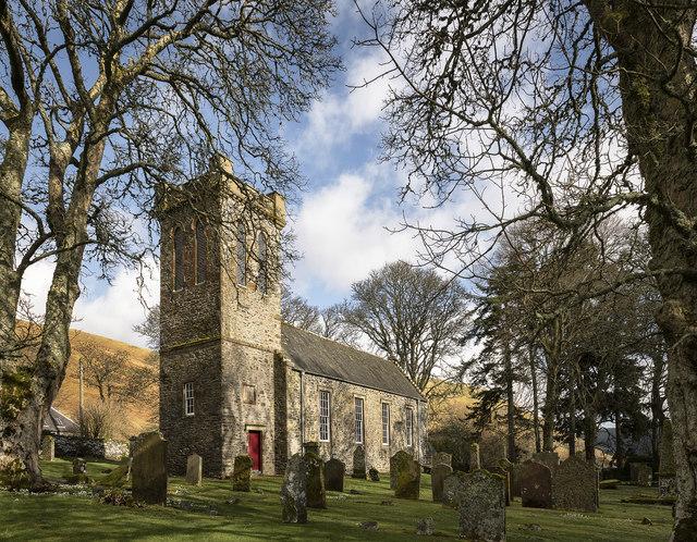 Ettrick Church.