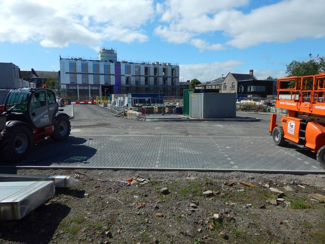 Construction of new council offices
