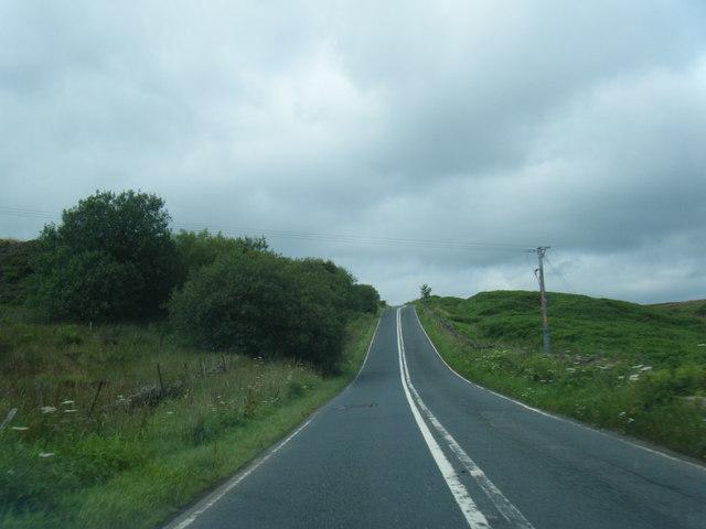 B6478 on Waddington Fell