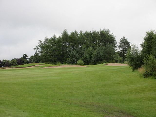 Lynedoch, 3rd hole, Heathery Knowe
