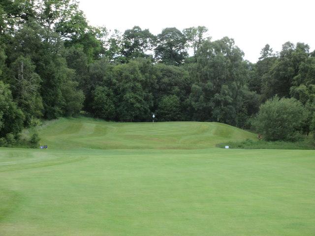 Lynedoch, 8th hole, Birch Lochan