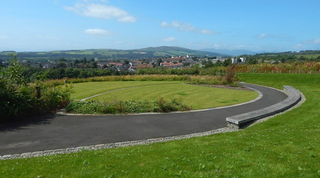 New Dumbarton Cemetery: the Memorial Garden