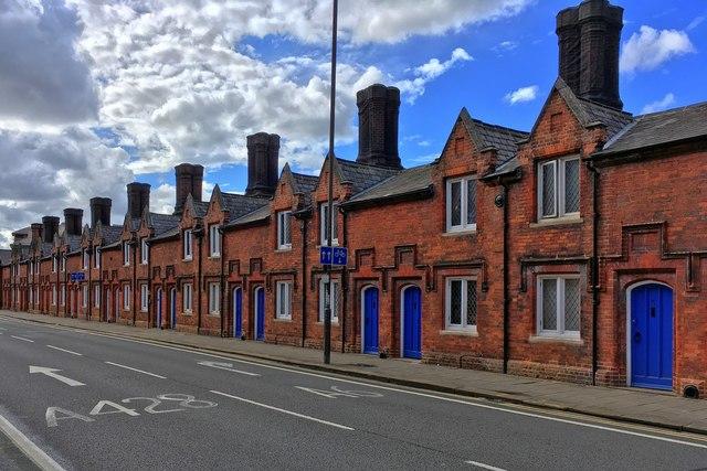 Almshouse on Dame Alice street