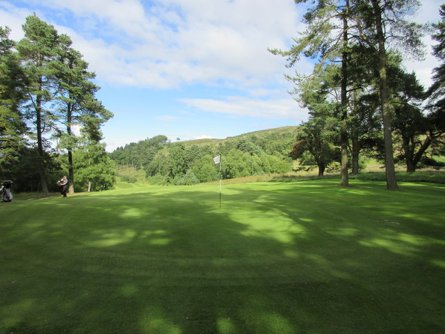Lynedoch, 14th hole, MacDuffs Folly