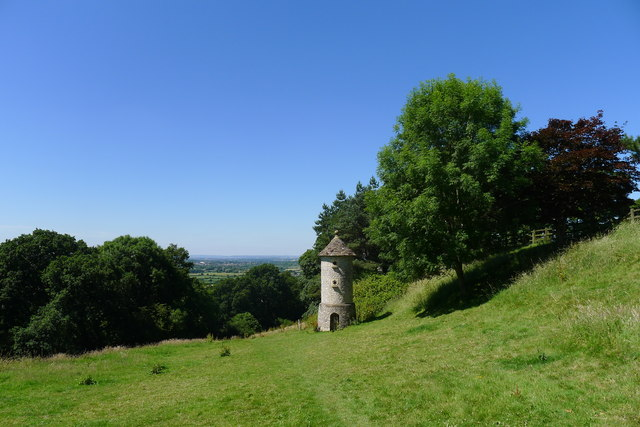 Nesting folly on the Cotswold escarpment, Horton