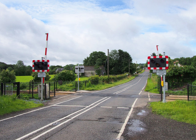 Level crossing, Dunloy