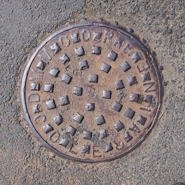 Manhole cover, Dunloy