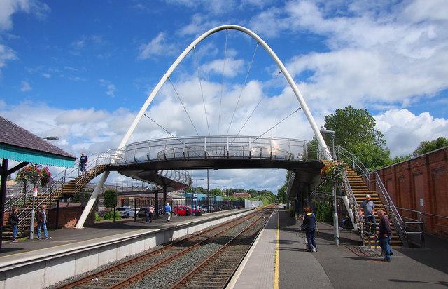 Footbridge, Ballymoney