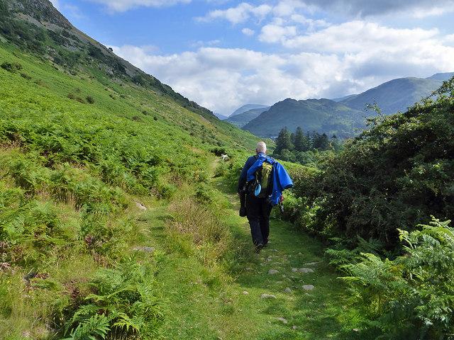 A footpath near Silver Crag