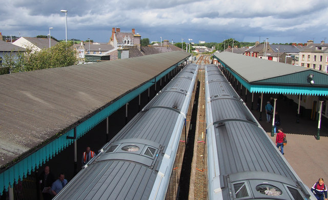 Trains, Coleraine Railway Station
