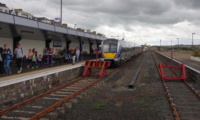 Train, Portrush Railway Station