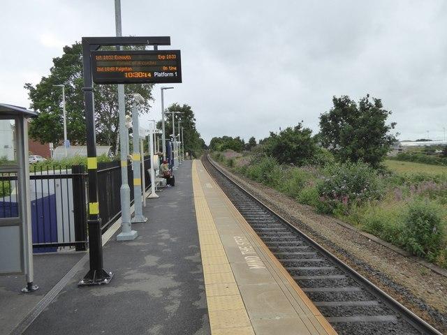 Newcourt railway station