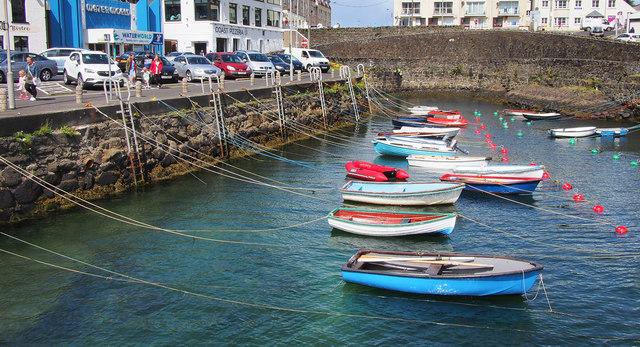 Boats, Portrush harbour