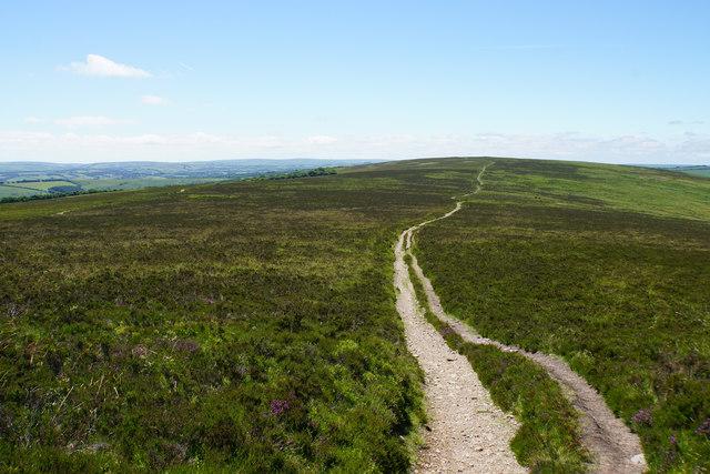 Path to Great Rowbarrow