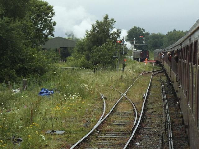 Adding steam at Hellifield