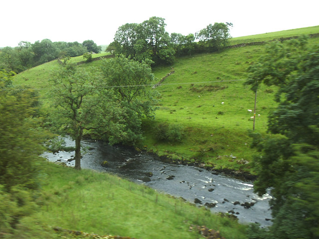River Ribble between Helwith Bridge and Stainforth