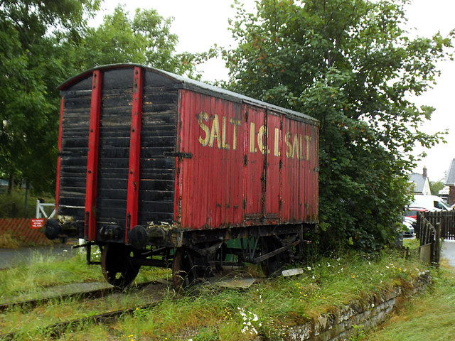 Salt van at Appleby