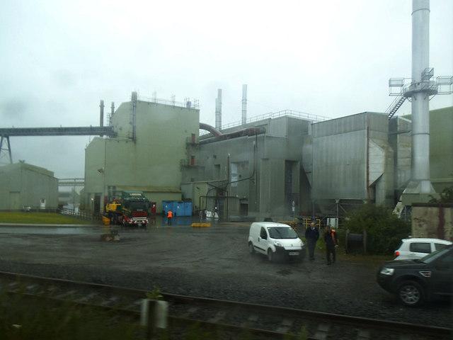British Gypsum works, Kirkby Thore