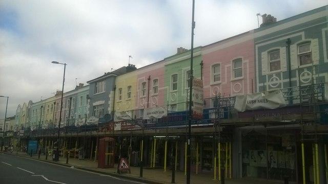 Refurbishment of shops, Thornton Heath High Street