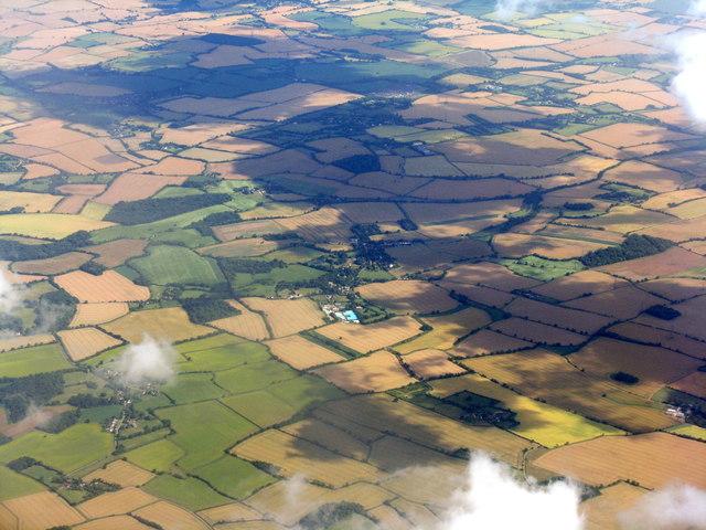 Hertfordshire/Essex fieldscape