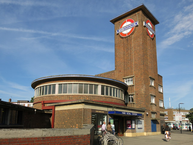 Park Royal tube station, Western Avenue, W5