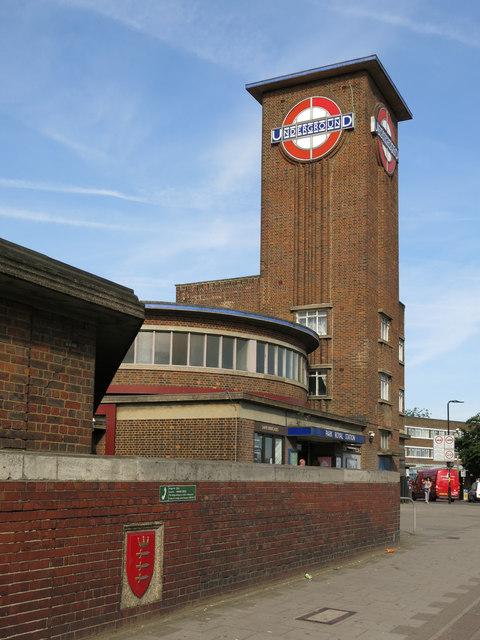 Park Royal tube station, Western Avenue, W5 (4)