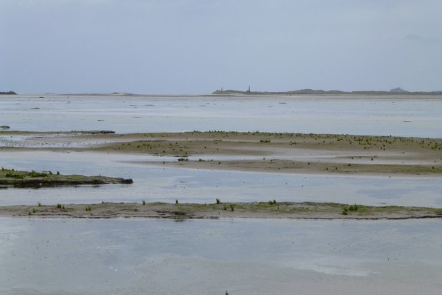 View across Holy Island Sands