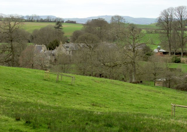 Mapperton from the northeast