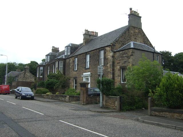 Houses on Dalhousie Road, Eskbank